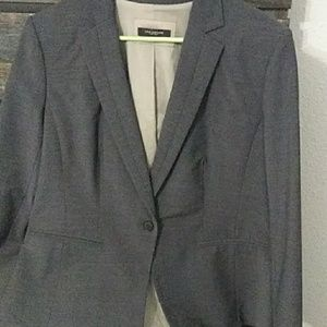 Ann taylor one button blazer and pants